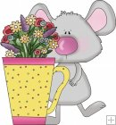 Mice Flower Cups 5