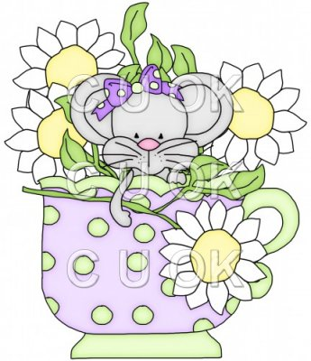 Little Mouse Tea Cups 6