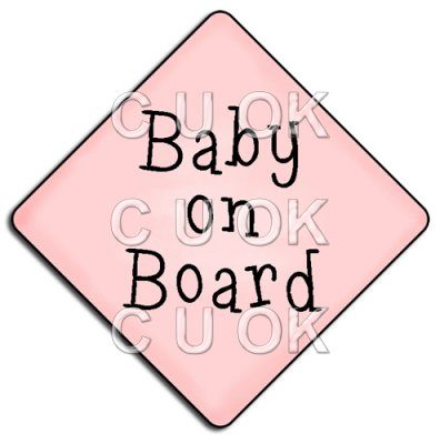 REF794 - Baby On Board