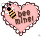REF406 - Be Mine Heart Word Art