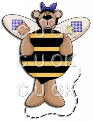 REF305 - Bumble Bee Bear