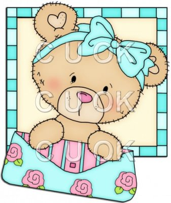 Peek A Boo Bears Shopping Squares 2