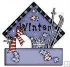 REF882 - Winter Sign