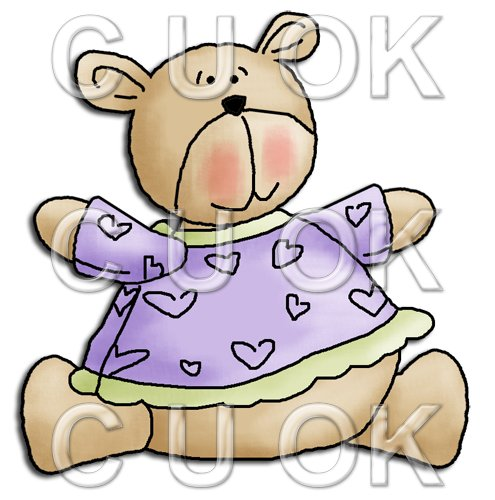 REF487 - Cute Baby Bear - Click Image to Close