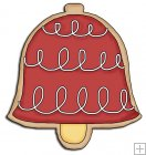 REF660 - Christmas Bell Cookie