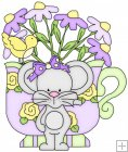 Little Mouse Tea Cups 10