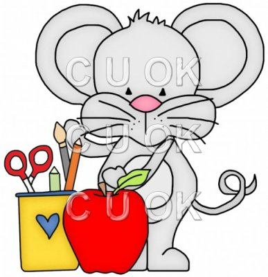 Little Mouse Goes To School 6