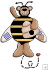 REF300 - Bumble Bee Bear