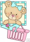 Peek A Boo Bears Shopping Squares 4