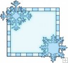 Let It Snow Squares 4 - Snowflake