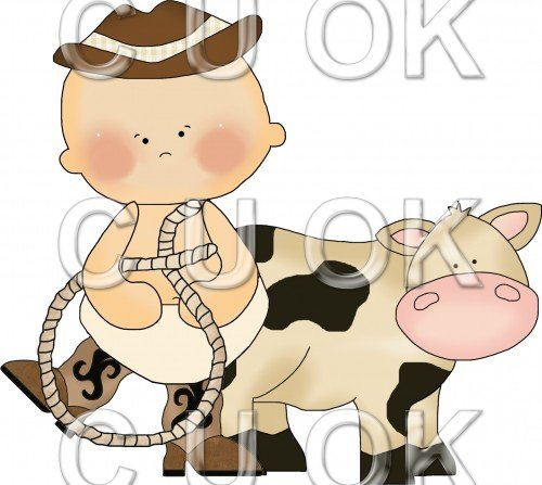 Cowboy Babies 5 - Click Image to Close