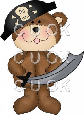 Little Pirate Bears 4