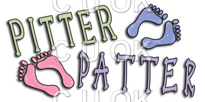REF163 - Pitter Patter Word Art