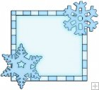 Let It Snow Squares 8 - Snowflake