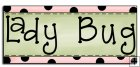 REF753- Lady Bug Border