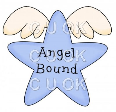 REF66 - Angel Bound Word Art