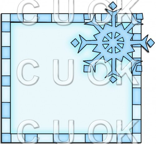 Let It Snow Squares 9 - Snowflake - Click Image to Close