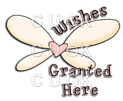 REF738- Wishes Granted - £0.17 : Commercial Use Clip Art