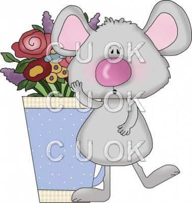 Mice Flower Cups 4
