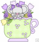 Little Mouse Tea Cups 8