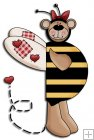 REF307 - Bumble Bee Bear