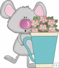 Mice Flower Cups 1