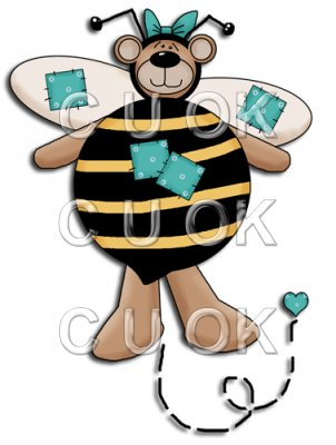 REF302 - Bumble Bee Bear