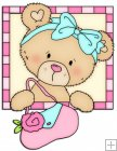 Peek A Boo Bears Shopping Squares 9