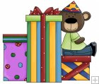 Birthday Bear 6 - Presents