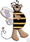 REF304 - Bumble Bee Bear