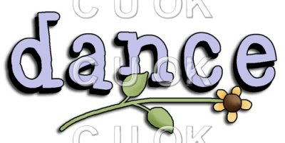 REF214 - Dance Word Art