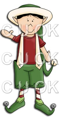 REF708- Christmas Elf Boy