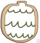 REF668 - Christmas Ornament Cookie