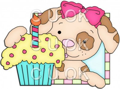 Doggy Squares Cupcake 5