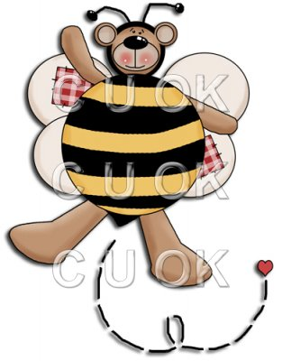 REF298 - Bumble Bee Bear