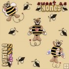 REF309 - Bumble Bee Background Tile