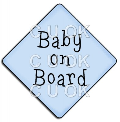 REF810 - Baby On Board Boy