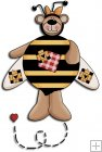 REF303 - Bumble Bee Bear