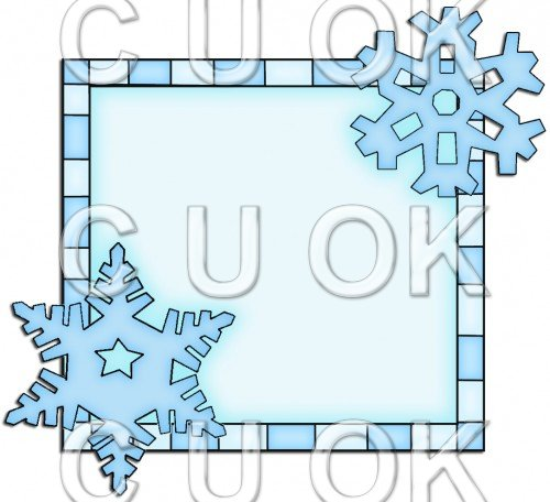 Let It Snow Squares 8 - Snowflake - Click Image to Close
