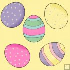 Little Easter Bunnies 10 - Background Tiles