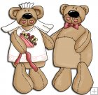 REF223 - Bear Bride & Groom