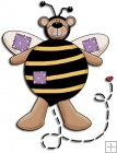 REF299 - Bumble Bee Bear