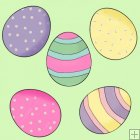 Little Easter Bunnies 9 - Background Tiles