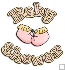 REF796 - Baby Shower Girl