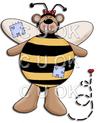 REF301 - Bumble Bee Bear