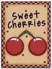 REF403 - Sweet Cherries Word Art