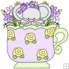 Little Mouse Tea Cups 4
