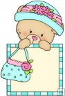 Peek A Boo Bears Shopping Squares 8