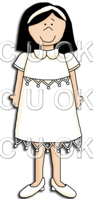 REF499 - Holy Communion Christening Girl