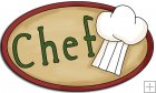 REF430 - Chef Word Art